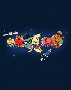 Sailor Planets shirt at ShirtPunch