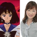 Yuko Minaguchi, the voice of Sailor Saturn