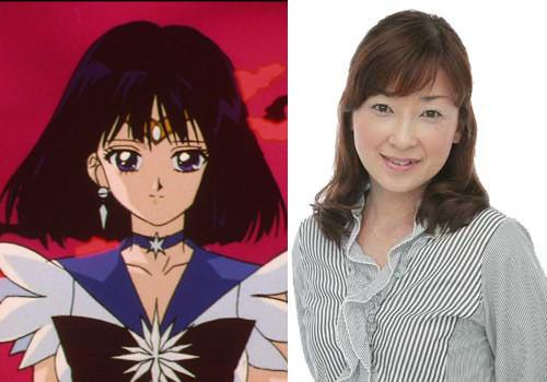 Yuko Minaguchi, the voice of Sailor Saturn
