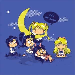 """Battle For The Moon"" shirt at ShirtPunch"