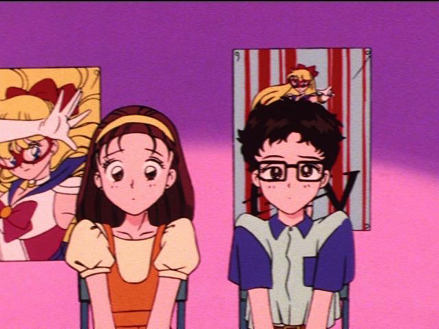 Kazuko Tadano and Hiromi Matsushita from the Sailor Moon anime