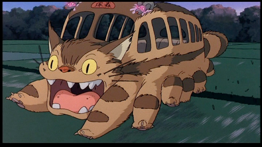 My Neighbor Totoro - Cat Bus running