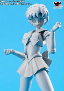 Sailor Mercury S. H. Figuarts figure by Bandai - Prototype