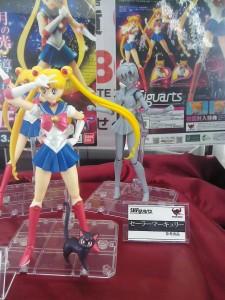 Sailor Mercury S. H. Figuarts prototype