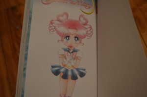 Sailor Moon manga volume 11 colour page Sailor Chibi Chibi