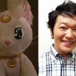 Kappei Yamaguchi, the voice of Artemis from the live action Pretty Guardian Sailor Moon series