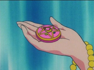 Princess Serenity Receives the Crystal Star Brooch in Sailor Moon R