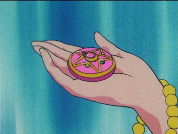 Princess Serenity Receives the Crystal Star Brooch in Sailor Moon R