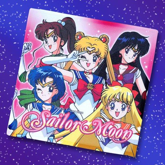 Sailor Moon Mini Microfiber Towel from Bandai