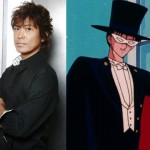 Toru Furuya, the voice of Tuxedo Mask