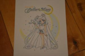 Sailor Moon manga vol. 12 - Back - Cosmos