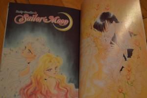 Sailor Moon manga vol. 12 - Colour pages