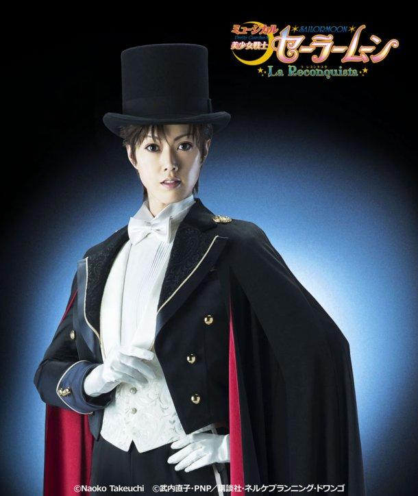 """Sailor Moon musical """"La Reconquista"""" - Yuuga Yamato as Tuxedo Mask"""