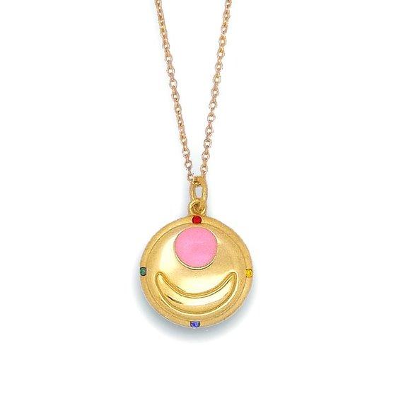Sailor Moon Transformation Brooch Necklace from Bandai