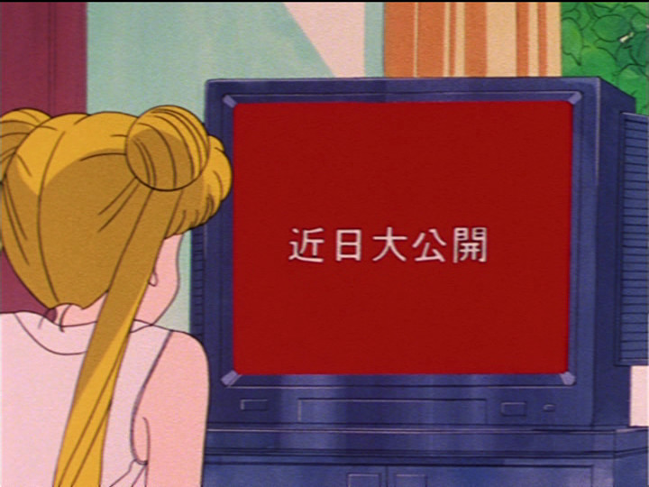 Usagi watching TV
