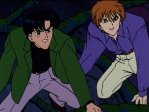Darien/Mamoru and Alan/Ail
