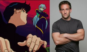 Vincent Corazza as Darien (Tuxedo Mask) and Alan