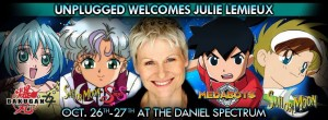 Julie Lemieux, voice of Sammy, to appear at Unplugged Expo 2013