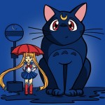 """""""My Neighbor Luna"""" shirt for sale today at TeeTurtle"""