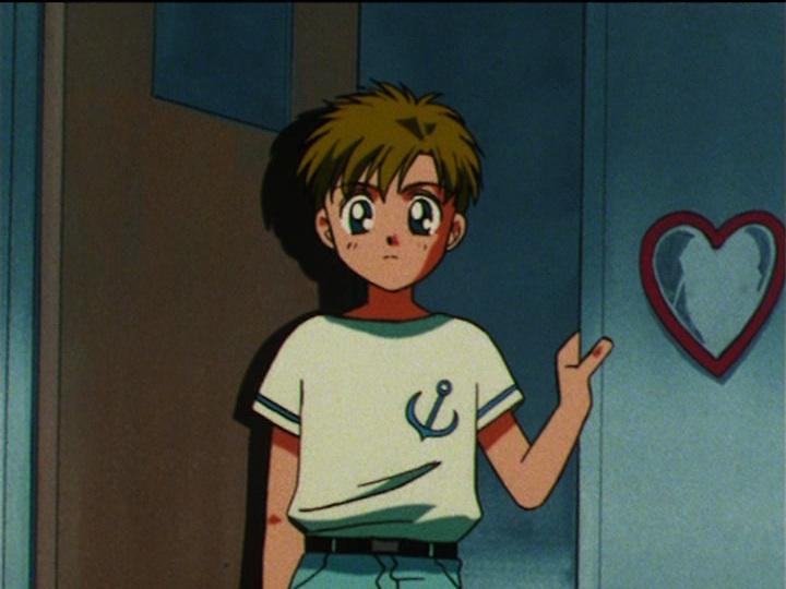 Sailor Moon episode 110 rare appearance of Shigo/Sammy