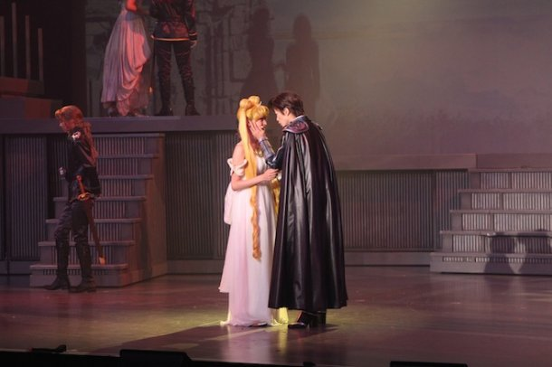 Sailor Moon La Reconquista Musical - Princess Serenity and Prince Endymion