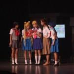 Sailor Moon La Reconquista Musical - Rei, Usagi, Minako, Makoto, Ami