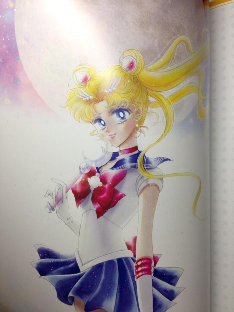 Sailor Moon La Reconquista Musical program - New art by Naoko Takeuchi