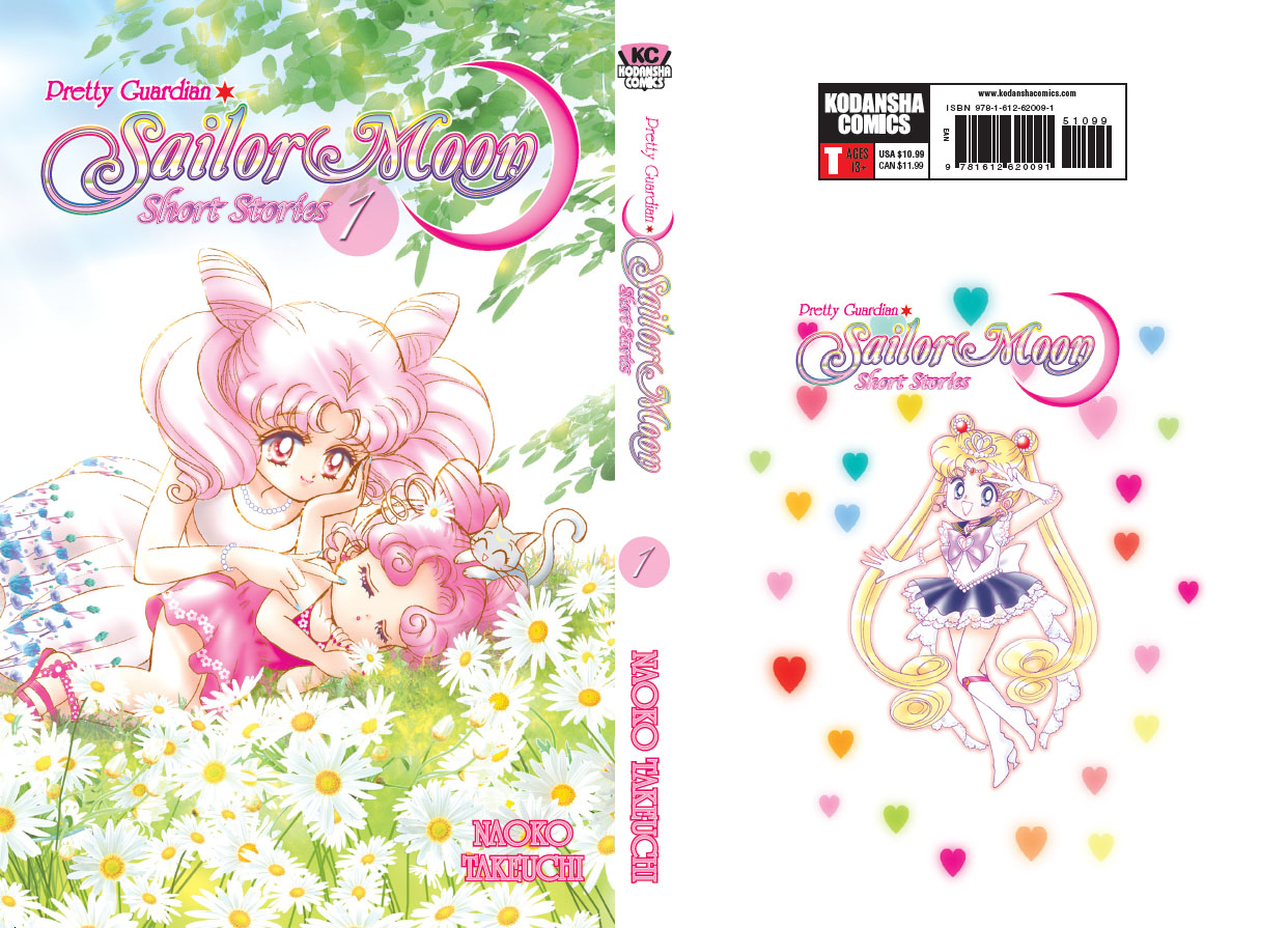 Sailor Moon manga short stories book 1 – Chibiusa, Chibi Chibi, Diana and Princess Sailor Moon ...