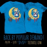 Adventure Moon Sailor Moon/Adventure Time t-shirt at Tee Turtle