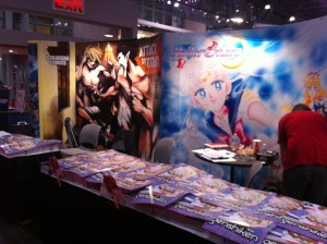 Kodansha Comics USA booth at NYCC 2013