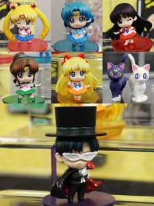 MegaHouse Sailor Moon figures