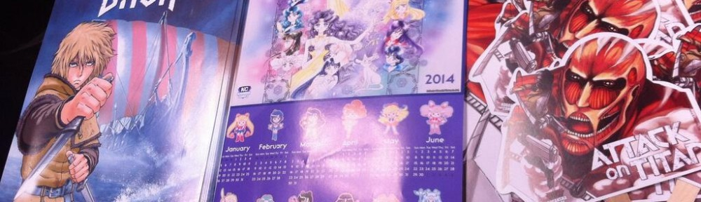 Sailor Moon poster at Kodansha Comics USA booth at NYCC 2013