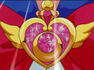 Sailor Moon's Crisis Moon Compact