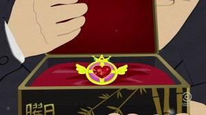 Sailor Moon's Crisis Moon Compact in South Park