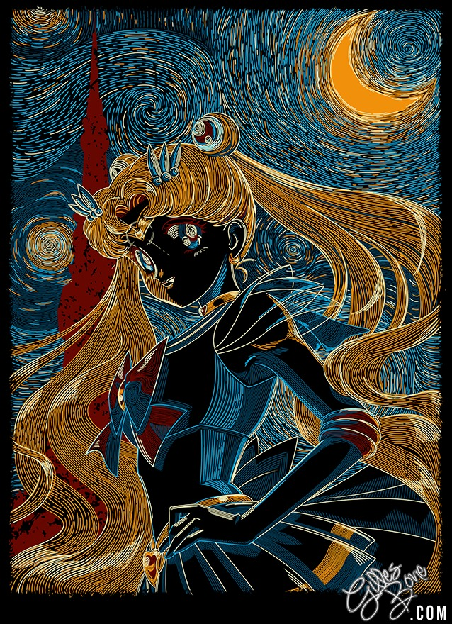 Usagi and the Starry Night
