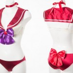 Sailor Mars costume lingerie from Peach John