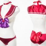 Sailor Mars costume lingerie from Peach John