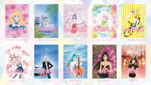 Sailor Moon 20th Anniversary Memorial Tribute Album vendor specific stckers