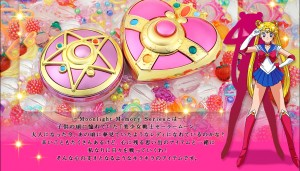 Sailor Moon Crystal Star and Cosmic Heart Compact Toys from Bandai