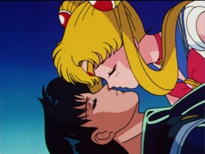 Sailor Moon not kissing Endymion who is dead