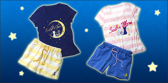 Sailor Moon pyjamas from Peach John