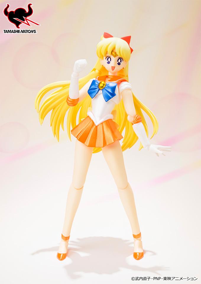 Sailor Venus S. H. Figuarts figure smiling