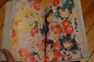 Sailor Moon manga act 36 - Colour pages