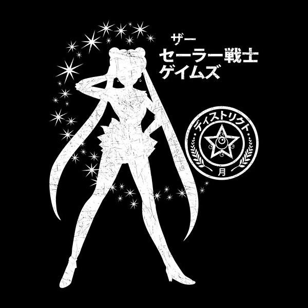 The Senshi Games Sailor Moon/Hunger Games shirt at Zebra Tees