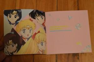Sailor Moon 20th Anniversary Tribute Album - Insert