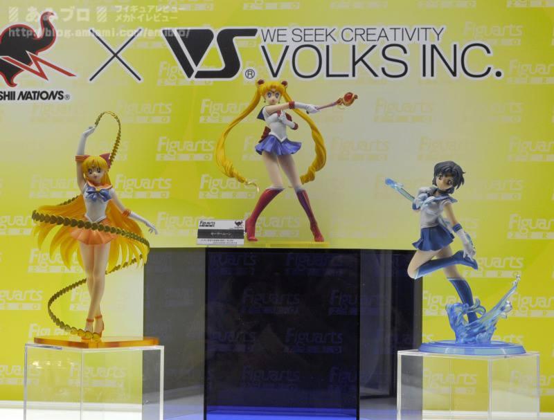 Sailor Venus, Sailor Moon and Sailor Mercury Figuarts Zero