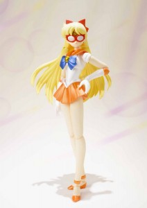 Sailor Venus with a  Sailor V mask