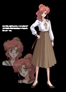 Makoto Kino - Character art from Pretty Guardian Sailor Moon Crystal