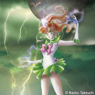 "Sailor Jupiter - Sailor Moon Memorial Tribute Album vinyl edition - Princess Moon and ""Rashiku"" Ikimasho"