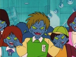 Sailor Moon episode 5 - Evil Shingo and Mika